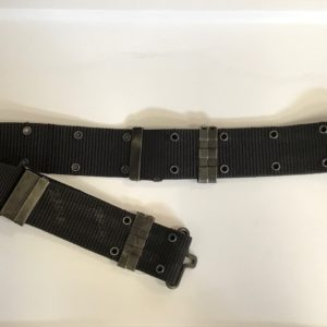 Black Pistol Belt